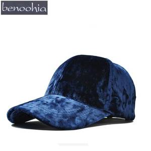 BBS125 Autumn Solid Color Velvet Sport Baseball Cap New Women Breathable  Cotton Snapback Hat Casquette Gorras Hip Hop c79c64965ed5
