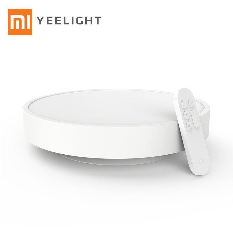 ФОТО Purchasin Original Xiaomi Yeelight Smart Ceiling Light Lamp Remote APP WIFI Bluetooth Control LED Colorful 28W Diameter 32CM