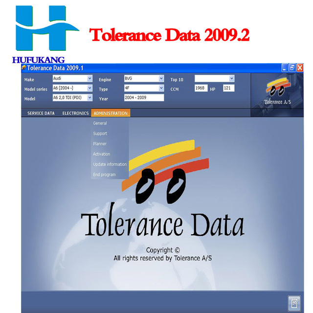 tolerance data 2009.2 gratuit
