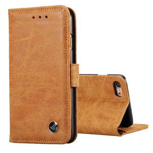 Image 5 - Funda de teléfono de lujo Funda de cuero con tapa para samsung Galaxy S5 S6 S7 S8 S9 plus Note 5 completa funda portatarjetas en efectivo