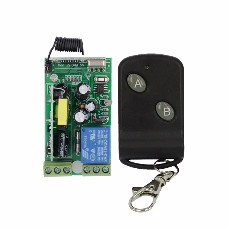 AC 85V 110V 220V 230V 250V Wireless Remote Control switch 10A Relay Switch Receiver Transmitter For Lamp/Light LED Remote ON OFF ac 220v wireless remote control switch remote on off 1ch 10a relay radio light switch receiver 3000m long range transmitter