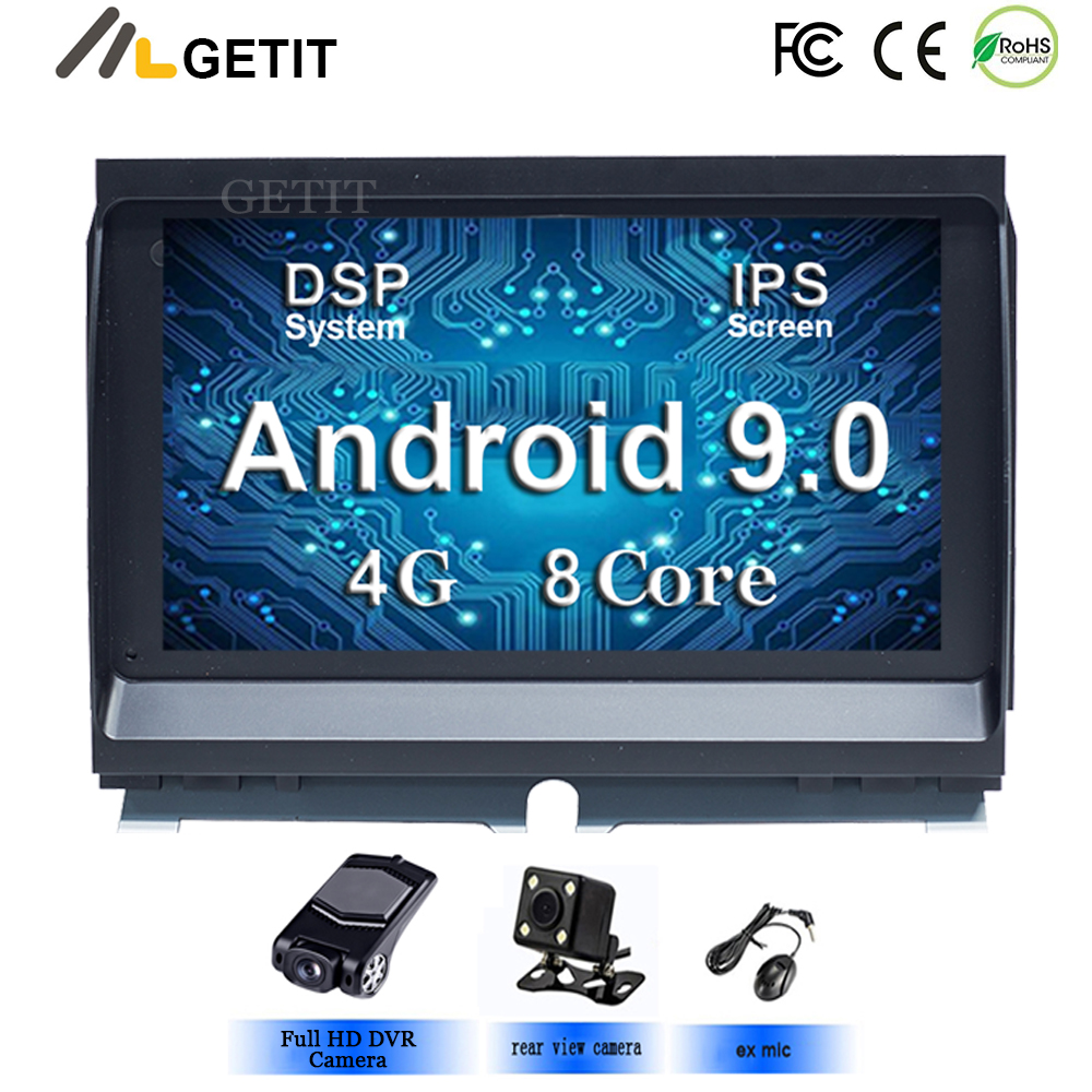 Android 9 Car DVD Multimedia for Land Rover Discovery 3 LR3 L319 2004 2009 with Radio