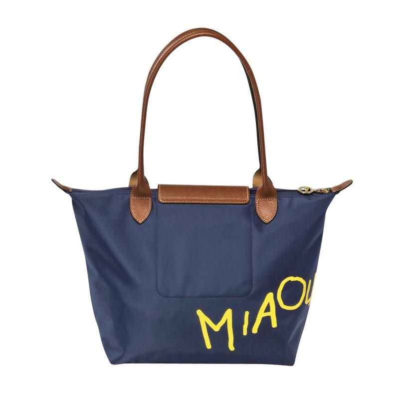 8f7163d39f French brand Women long Nylon PU Leather dumplings vintage Bag ...