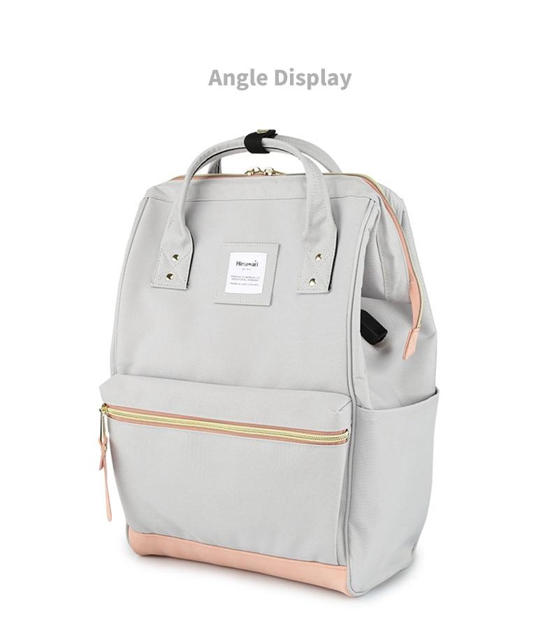 roubo de viagem portátil mochila feminina saco