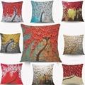Beddingoutlet mermaid  cushion covers painting pillow cases home decorative cushion cover square 45X45 cm pillowcase