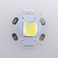 32W 6V CREE XHP70 N4 6500K Cool White 4022lm LED Emitter With 20x1 6mm Aluminum Heating