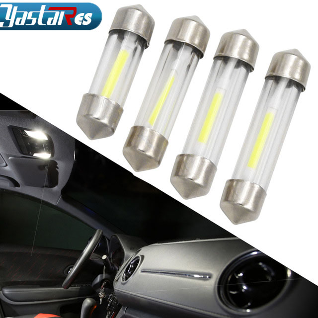 1pcs LED 31mm 36mm 39mm 41mm White CANbus C5W Bulbs 2835SMD Interior Lights License Plate Light No Error Car Dome Reading Light