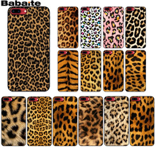 цена на For coque iphone 8 Leopard Print Black TPU Soft Rubber Phone Case for Apple iPhone 7 6 6S Plus X XS MAX 5 5S SE XR Mobile Cases