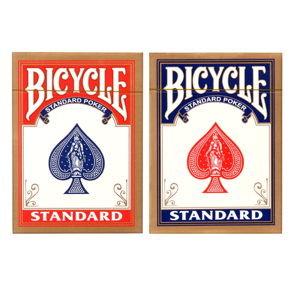 1 pcs Bicycle Rider Back Playing Cards Poker Color Random Texas Holdem cards Waterproof and dull poker star Board games