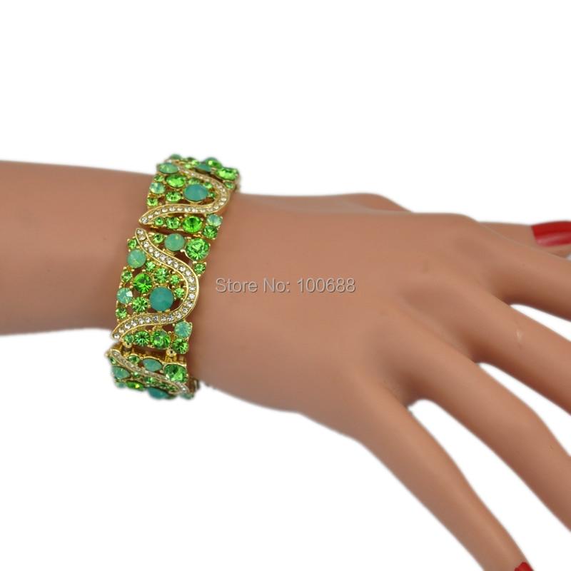 3 colores opcionales Crystal Rhinestone Girls Stretch Elastic - Bisutería - foto 3