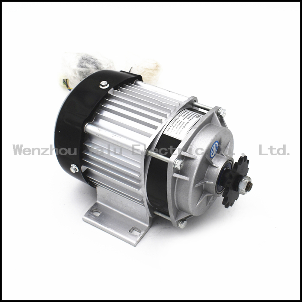 Купить с кэшбэком Small and medium sized electric tricycle fittings Permanent magnet DC brushless motor BM1418ZXF350W36V48V