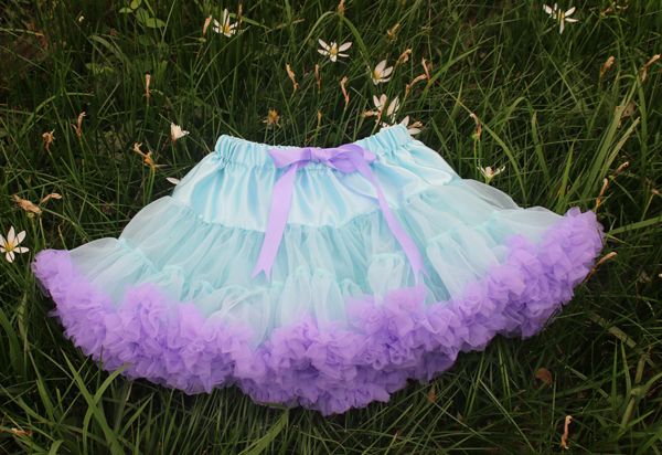 style 2 Fashion Fluffy Chiffon Pettiskirts tutu Baby Girls Skirts Princess skirt dance wear Party clothes 18M-10 Ys 22 colors