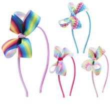 Candygirl Hair Accessories Hairbands Girls Bands Bowknot with Teeth Flower Headband Accessor