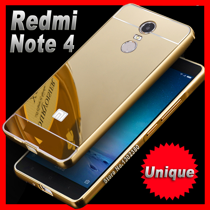 xiomi xiaomi redmi note 4 case cover slim aluminum luxury