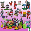 Hot sale Plants vs Zombies PVC Action Figures 2.5-6.5cm PVZ 40pcs/set Collection Figures Toys Gifts plant + zombies vinyl doll