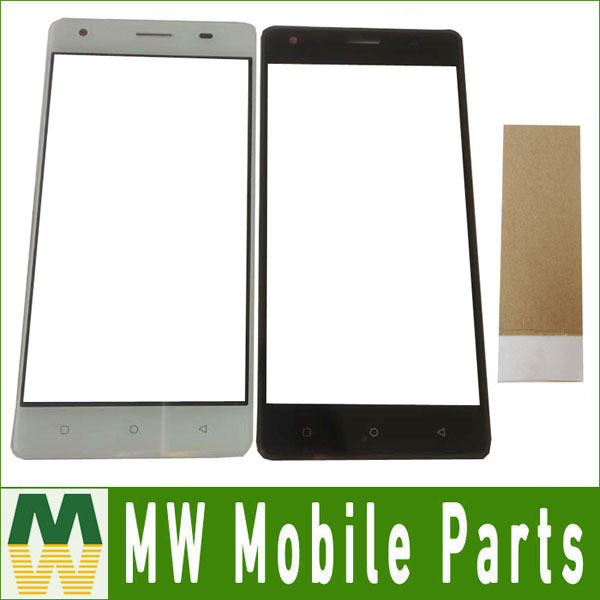 1PC/ Lot High Quality 5.0inch For JUST5 Freedom M303 Touch Screen Digitizer Replacement Part Black Whitte Gold Color With Tape(China)