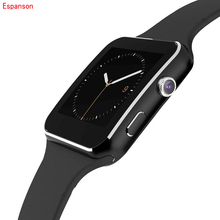 Espanson Smart Watch Bluetooth Smartwatch Pedometer Wearable Devices For iPhone Android Watch Support SIM Card Camera wristwatch