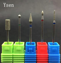 5 Type Diamond Nail Drill Milling Nail Cutter Electric Nail Drill Bit For Manicure Pedicure Drill Bits Accessories Nail Drill