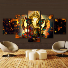 5 Pieces Elephant God Ganesha Pictures
