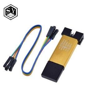 1 шт. Great IT 1 комплект ST LINK Stlink ST Link V2 Mini STM8 STM32 симулятор загрузки программирования с покрытием кабель DuPont|Интегральные схемы|   | АлиЭкспресс