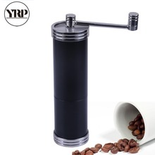 YRP Stainless Steel Coffee Grinder Manual Spice Nut Pepper Seed Coffee Bean Espresso Burr Machine Kitchen Tool Cafe Mill Grinder