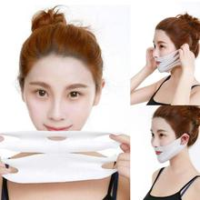 Lifting Facial V Shape Mask Face Slim Chin Check Neck Lift Peel-off Mask V Shaper Mask Facial Slimming Bandage Mask Skin Care