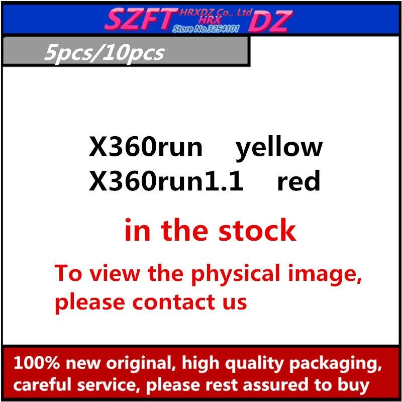 SZFTHRXDZ 5pcs 10PCS X360run X360run1.1 para x360 slim (Trindade e Coroa) com 96 MHz
