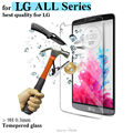 Tempered Glass 9H 0.3mm 2.5D Tempered Glass Screen Protector Film for LG G3 D850 D855 G4 Note Stylus Mini Max Bello 2 G2