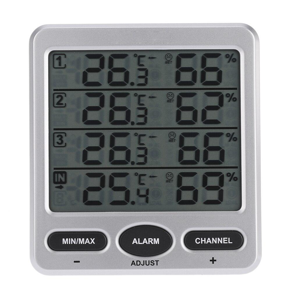 схема беспроводной термометр с радиодатчиком