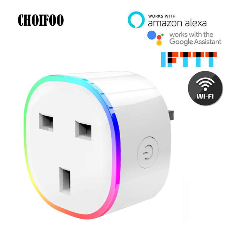 rgb smart plug light uk work pop socket wireless wifi. Black Bedroom Furniture Sets. Home Design Ideas