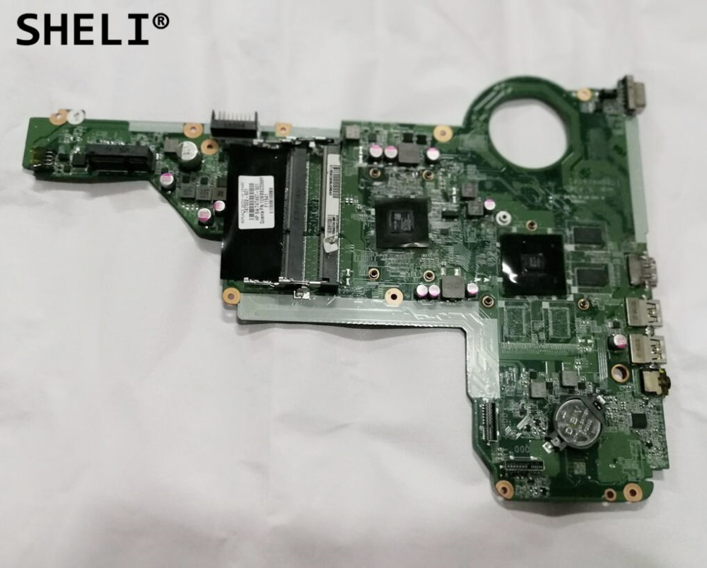 все цены на SHELI For HP 17-E 17Z-E 15-E Motherboard with A4-5000 cpu 1GB DA0R76MB6D1 747002-001 747002-501 онлайн