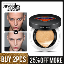 JOYCODES Men Air Cushion BB Cream Moisturizing Foundation Cream for Face Concealer for Face Beauty Makeup Natural Color BB Creme