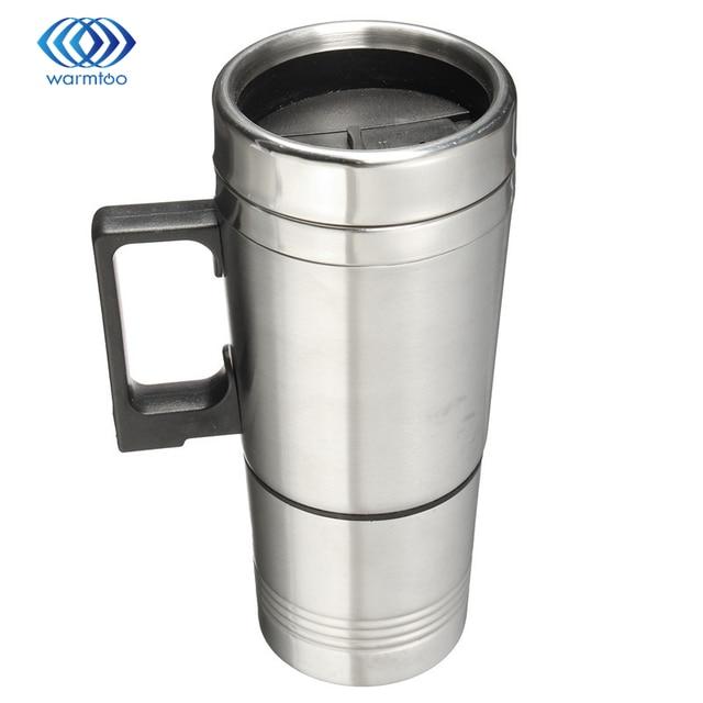 12 V 300 ml taza del coche de acero inoxidable eléctrica calienta ...