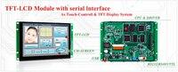 임베디드 4.3 인치 HMI TFT LCD 디스플레이 직렬 인터페이스 + 프로그램 + 컨트롤러 보드 모든 마이크로 컨트롤러 지원