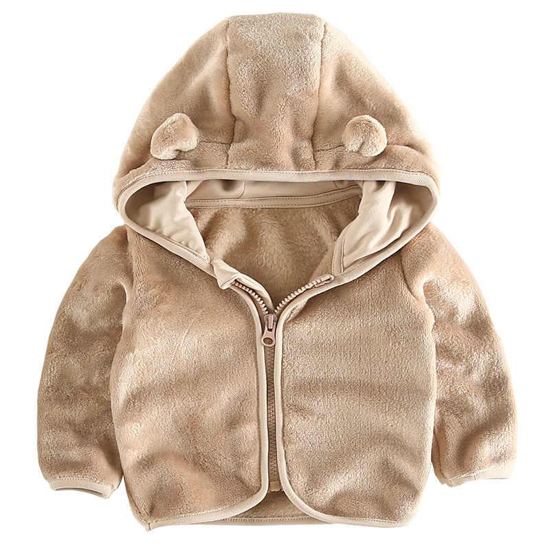 Nuevo 2018 primavera orangemom abrigo oficial para bebé chaqueta de lana para bebé 6 M-24 M Ropa Para niña, ropa súper Linda para bebé niño infantil
