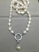 Long 10-11MM Necklace Fashion