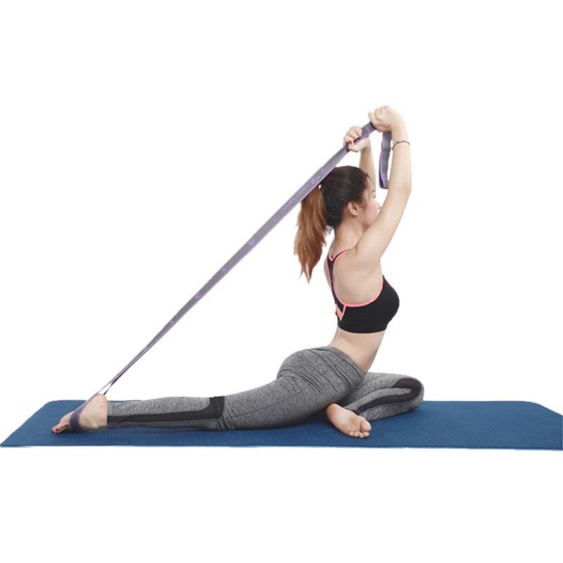 רצועת יוגה נמתחת 8 לולאות 2
