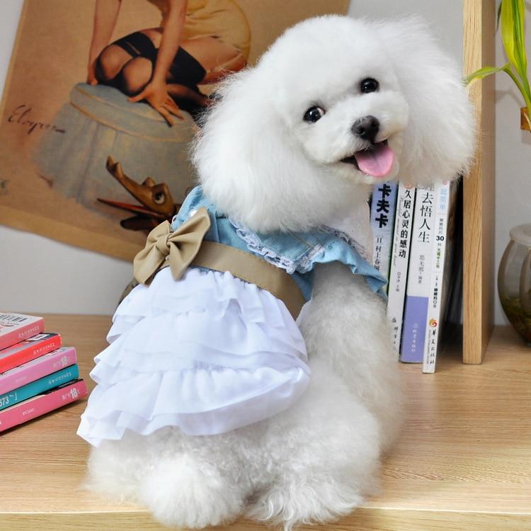 Одежда для домашних животных промытая юбка для торта 2013 новая одежда для животных Костюм для животного юбка