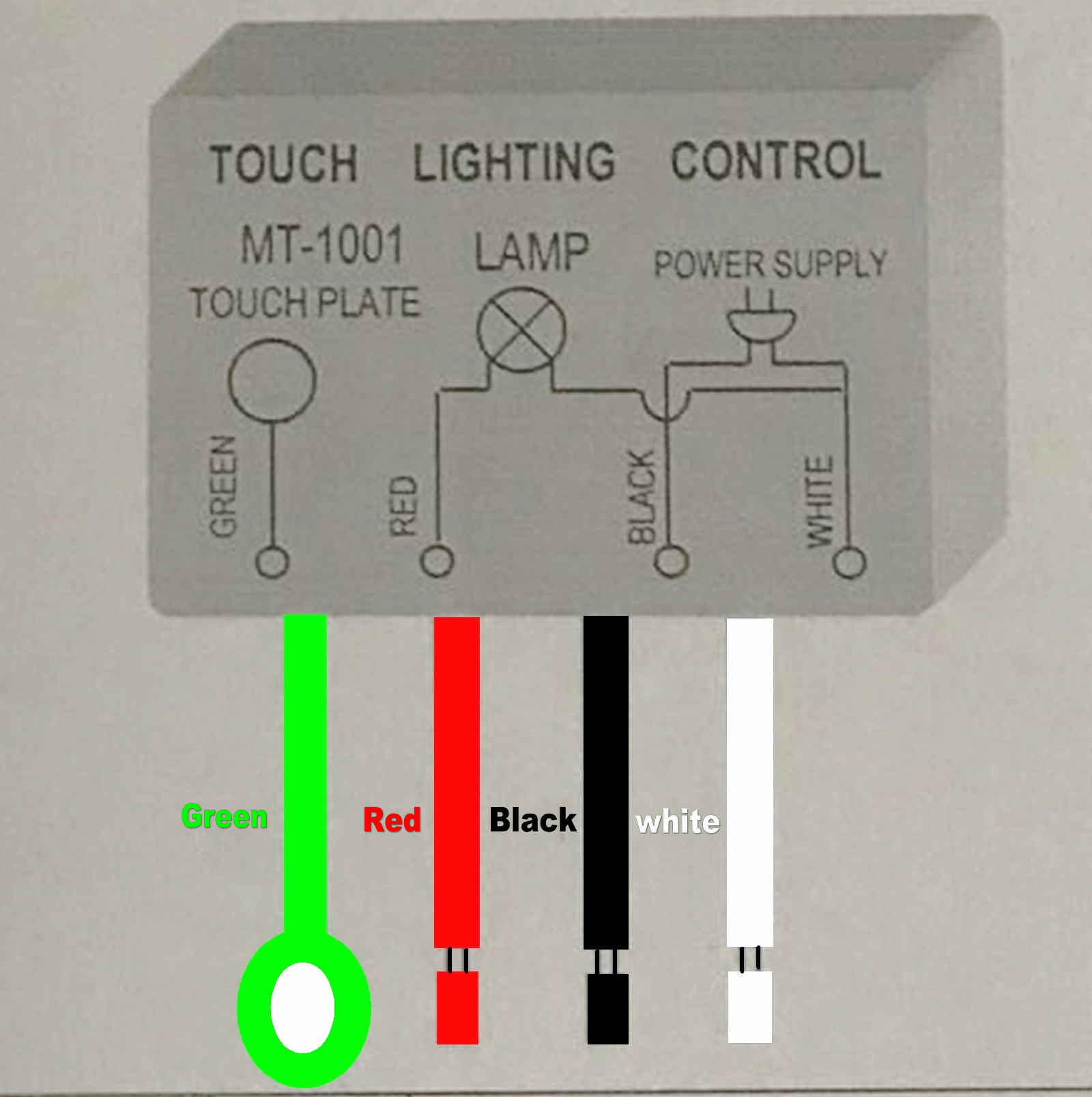 touch dimmer wiring diagram 1pc touch lighting control mt 1001 100v 120v 150w 60hz dimmer  mt 1001 100v 120v 150w 60hz dimmer