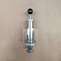 1.5 Tri Clamp 0.2 2.2 Bar Adjustable Pressure Relief Direct Safety Valve Sanitary SUS304 Stainless Steel Beer Brew