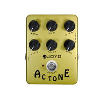 Joyo JF 13 AC Tone Electric Guitar Effects Pedal Classic British Rock Sound Vox AV 30 Tone AMP Simulation Guitar Effect Stompbox