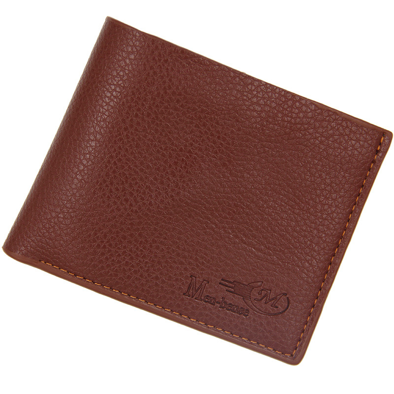 2018 Fashion Wallet Men Leather Men Wallets Purse Causal Leather Wallet Mens Money Bag PU Leather Short Wallets For Men