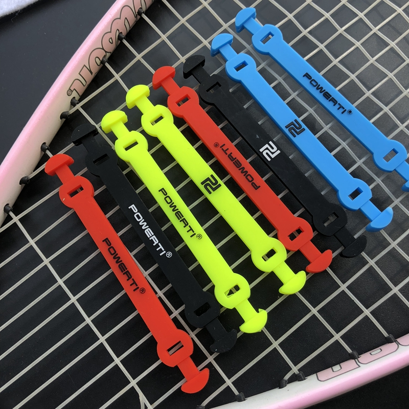 4pcs Silicone Buckle Hook Tennis Damper Shock Absorber to