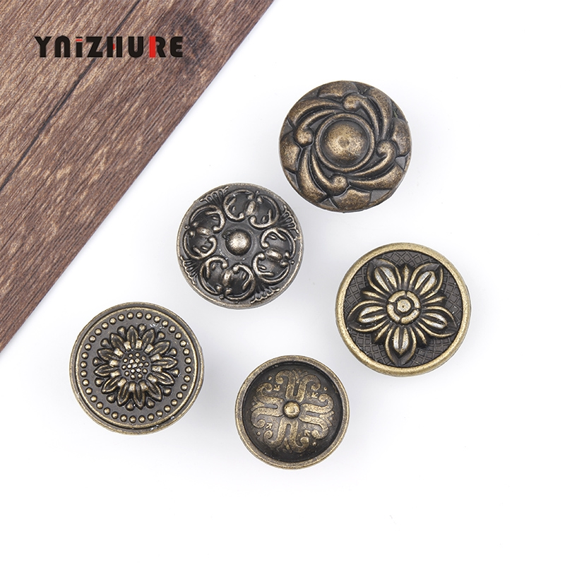 Antique Pull Handles Bronze Tone Retro Alloy Kitchen Drawer Cabinet Door Handle Furniture Knobs Hardware Cupboard Classical f400a sensor used in good condition