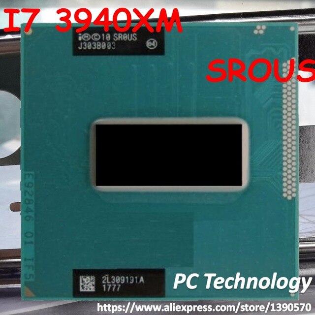 إنتل المحمول المتطرفة I7 3940XM CPU 3.0 GHz 3.9 GHz 8M SR0US المعالج I7 3940XM الأصلي شرائح في الأسهم لحرية الملاحة المحمول