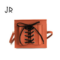 Bag 2017 new tide fashion envelope tie bag with a single shoulder slanting chain in autumn