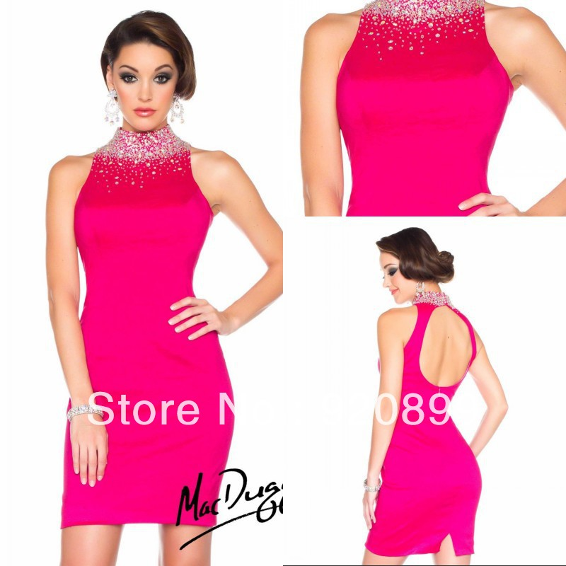 Popular Cheap Hot Pink Cocktail Dresses-Buy Cheap Cheap Hot Pink ...