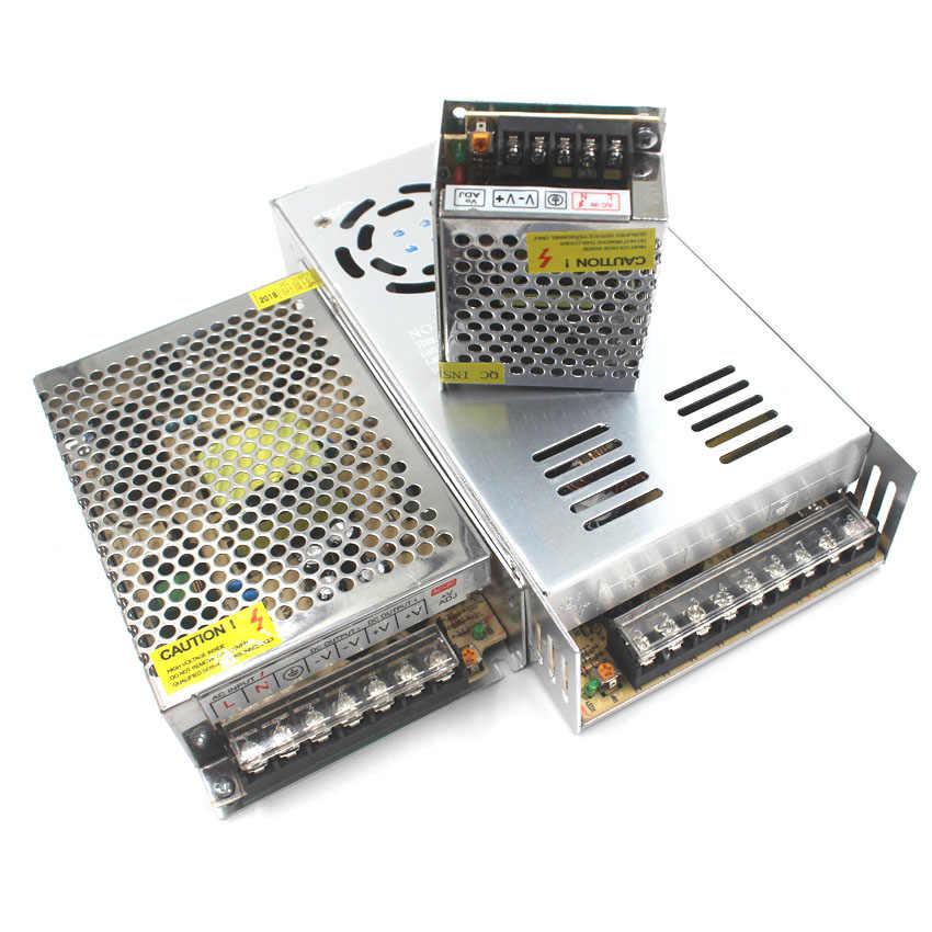 IKVVT Питание светодиодный трансформатор AC/DC 12 v 2A 3A 5A 6.5A 8.5A 10A импульсный источник AC 110 V/220 V постоянного тока до DC12v для светодиодный светодиодные полосы света