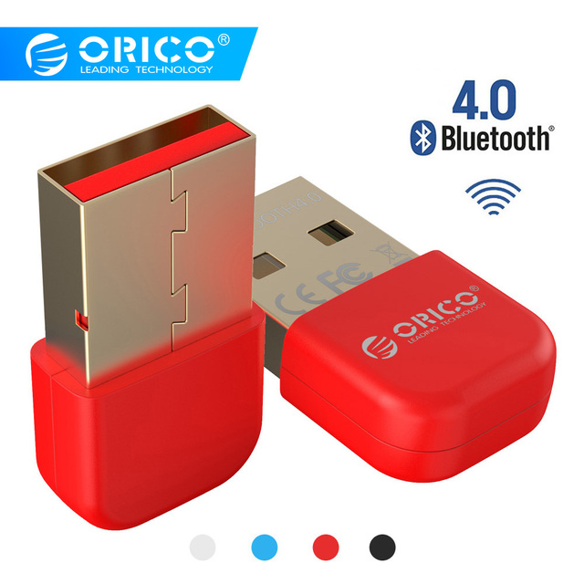 Bluetooth 4.0 USB Adapter Dongle Transmitter Receiver cho PC cho Windows Vista Tương Thích Bluetooth 2.1/2.0/3.0 (ORICO BTA-403)