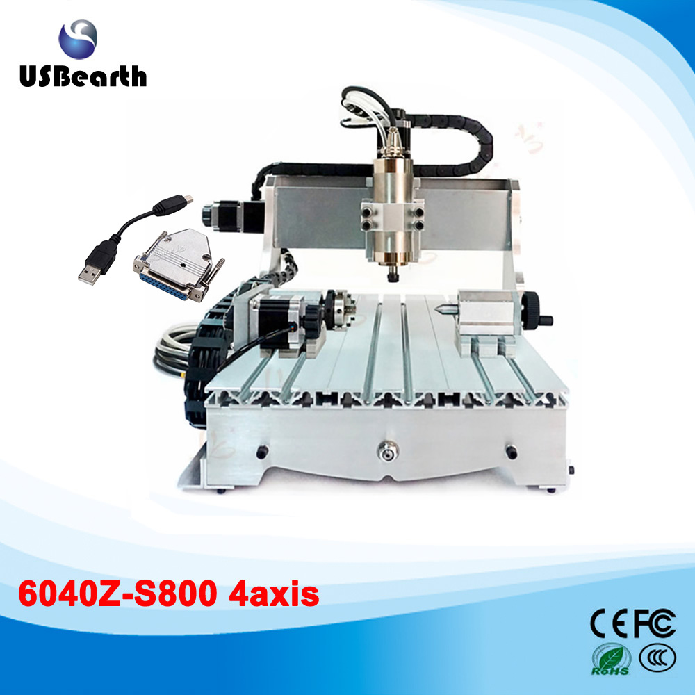 Large area engraving machine 6040 800w cnc drilling milling machine with usb port, free tax to Russia 3d cnc router cnc 6040 1500w engraving drilling milling machine cnc cutting machine 110 220v